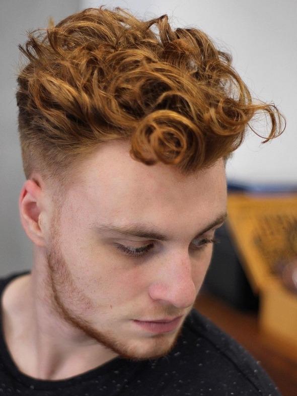 corte y color barbería 2021 punkrose